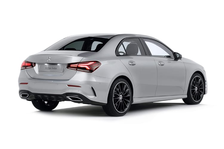 Mercedes-Benz A Class A250e Saloon 4Dr 1.3 PiH 15.6kWh 218PS AMG Line 4Dr 8G-DCT [Start Stop] back view