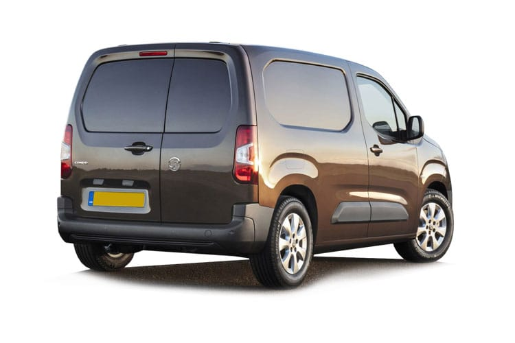 Vauxhall Combo Cargo L1 2300 4x4 1.5 Turbo D 4WD 130PS Edition Van Manual [Start Stop] back view