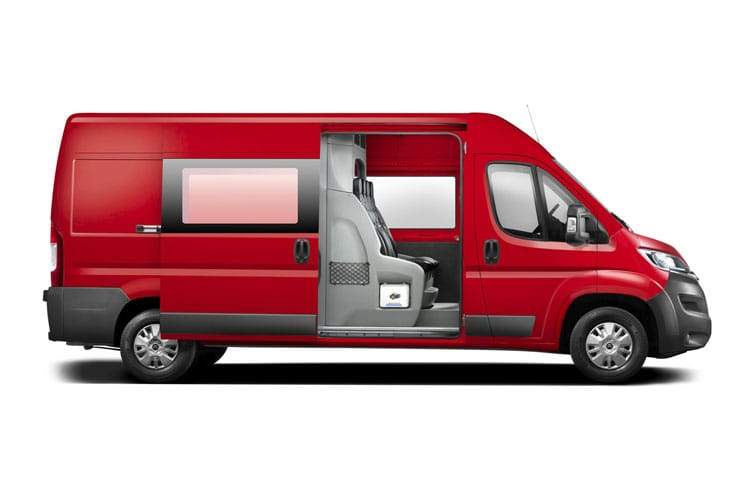 Citroen Relay 35 L3 2.2 BlueHDi FWD 165PS Plus Chassis Double Cab Manual [Start Stop] back view