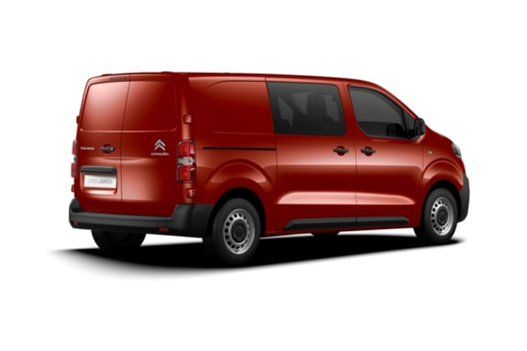 Citroen Dispatch M 1400Kg 2.0 BlueHDi FWD 120PS Enterprise Crew Van Manual [Start Stop] back view