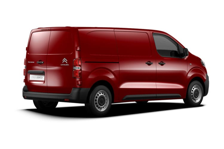 Citroen Dispatch e-Dispatch M 1200Kg Elec 75kWh 101KW FWD 136PS Enterprise Van Auto back view