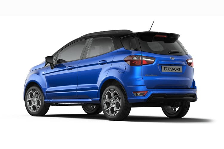 Ford EcoSport SUV 2WD 1.0 T EcoBoost 125PS ST-Line Black 5Dr Manual [Start Stop] [X Pack] back view