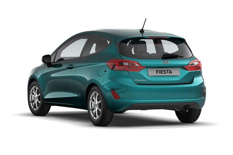 Ford Fiesta Hatch 5Dr 1.0 T EcoBoost MHEV 155PS Active X Edition 5Dr Manual [Start Stop] back view