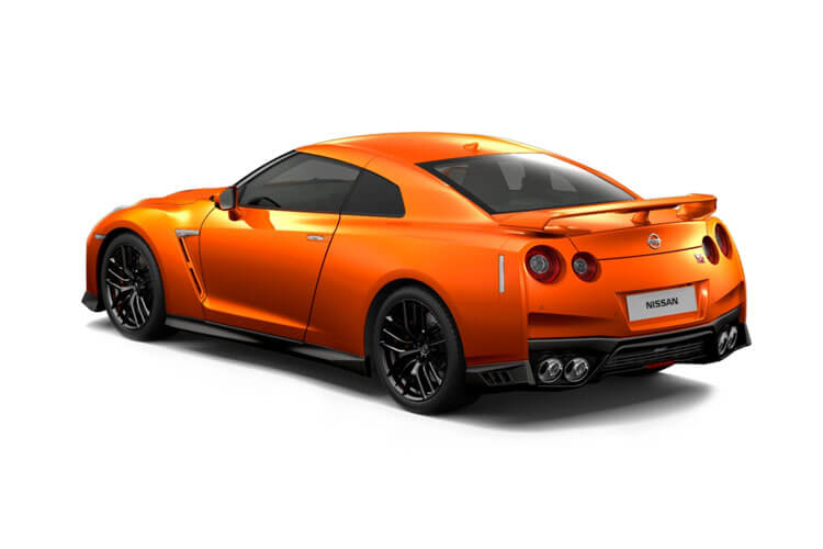 Nissan GT-R Coupe 3.8 V6 570PS Pure 2Dr Auto back view