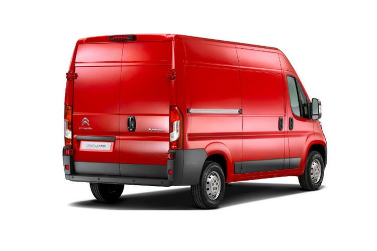Citroen Relay 35 Heavy L4 2.2 BlueHDi FWD 140PS Enterprise Van Extra High Roof Manual [Start Stop] back view