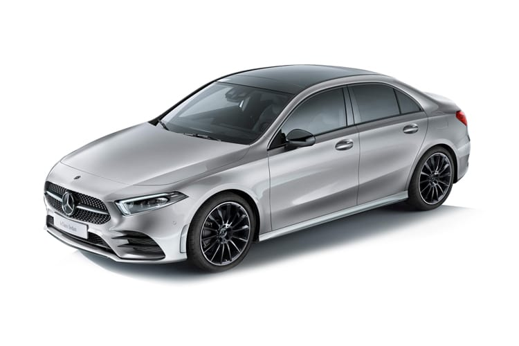 Mercedes-Benz A Class A250e Saloon 4Dr 1.3 PiH 15.6kWh 218PS AMG Line 4Dr 8G-DCT [Start Stop] front view