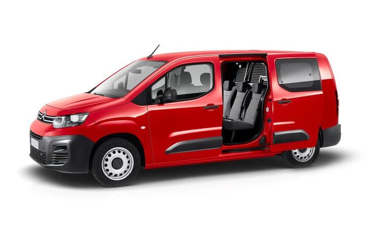 Citroen Berlingo XL 850Kg 1.2 PureTech FWD 110PS Enterprise Crew Van Manual [Start Stop] front view