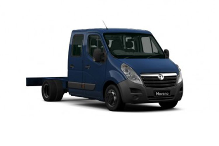 Vauxhall Movano R35 L4 2.3 CDTi BiTurbo DRW 130PS  Chassis Double Cab Manual front view