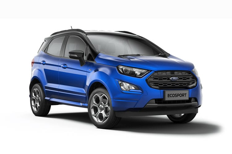 Ford EcoSport SUV 2WD 1.0 T EcoBoost 125PS ST-Line Black 5Dr Manual [Start Stop] [X Pack] front view