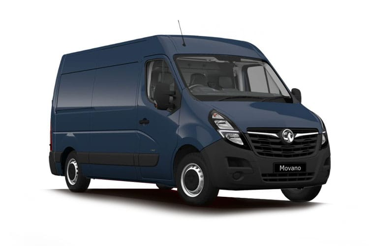 Vauxhall Movano F35 L1 2.3 CDTi BiTurbo FWD 135PS Edition Van Medium Roof Manual front view