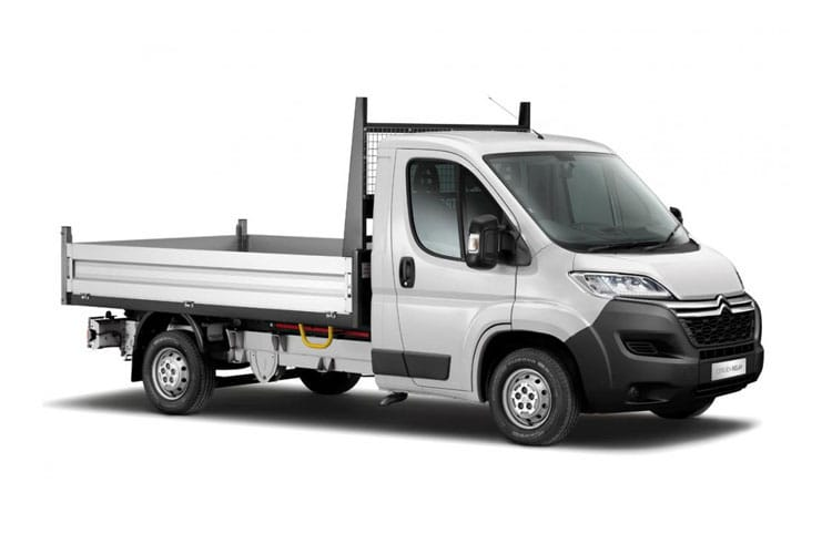 Citroen Relay 35 L3 2.2 BlueHDi FWD 140PS Ready to Run Plus Tipper Double Cab Manual [Start Stop] front view