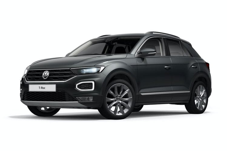 Volkswagen T-Roc SUV 2wd 1.5 TSI EVO 150PS Black Edition 5Dr DSG [Start Stop] front view