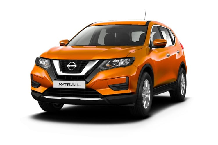 Nissan X-Trail SUV FWD 1.7 dCi 150PS Visia 5Dr Manual [Start Stop] [7Seat] front view
