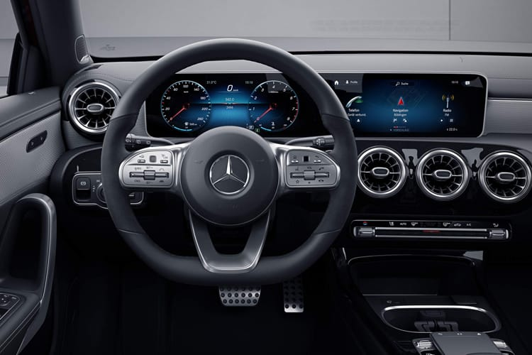 Mercedes-Benz A Class A250e Saloon 4Dr 1.3 PiH 15.6kWh 218PS AMG Line 4Dr 8G-DCT [Start Stop] inside view