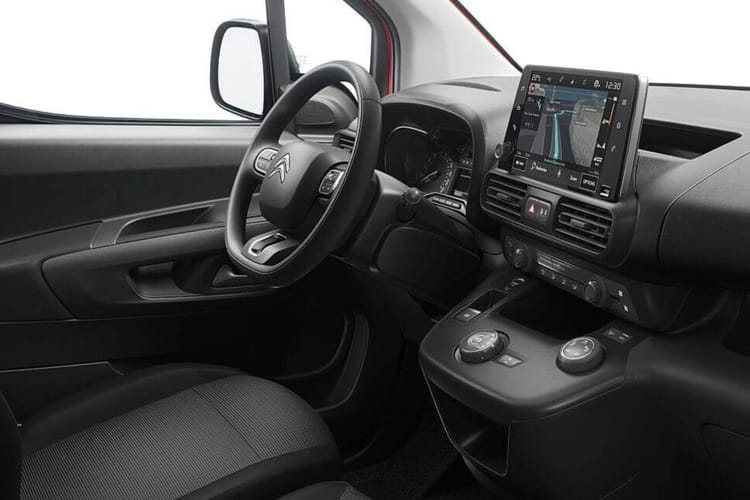 Citroen Berlingo XL 950Kg 1.5 BlueHDi FWD 100PS Driver Van Manual inside view