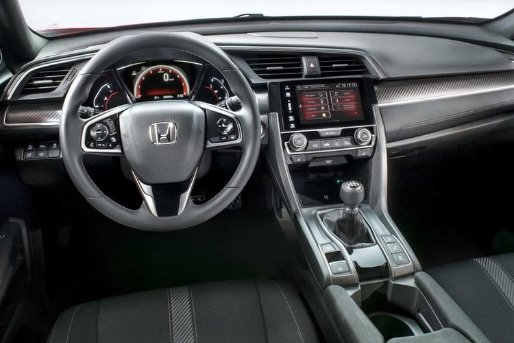 Honda Civic Hatch 5Dr 1.5 VTEC Turbo 182PS Sport 5Dr CVT [Start Stop] inside view