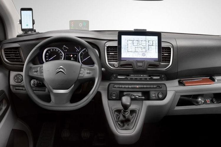 Citroen Dispatch M 1400Kg 2.0 BlueHDi FWD 120PS Enterprise Crew Van Manual [Start Stop] inside view