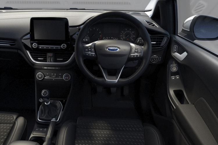Ford Fiesta Hatch 5Dr 1.0 T EcoBoost 100PS Titanium X 5Dr Auto [Start Stop] inside view