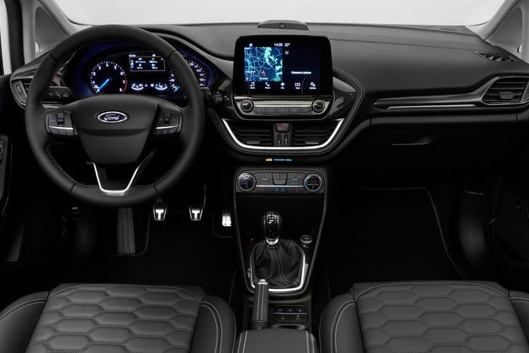 Ford Fiesta Hatch 5Dr 1.0 T EcoBoost 95PS Active X Edition 5Dr Manual [Start Stop] inside view