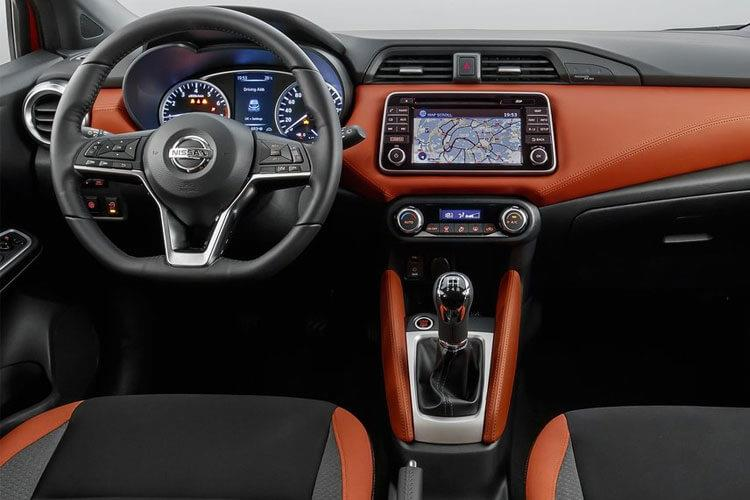 Nissan Micra Hatch 5Dr 1.0 IG-T 100PS Tekna 5Dr Manual [Start Stop] [Vision+] inside view