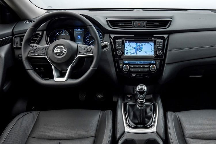 Nissan X-Trail SUV FWD 1.7 dCi 150PS Acenta 5Dr CVT [Start Stop] [7Seat] inside view