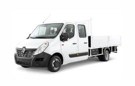 Renault Master Tipper LWB 35TW RWD 2.3 dCi ENERGY DRW 145PS Business Tipper Double Cab Manual [Start Stop] [Aluminium]