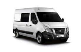 Nissan NV400 Crew Van L3 35 FWD 2.3 dCi FWD 150PS Acenta Crew Van Medium Roof Auto [Start Stop]