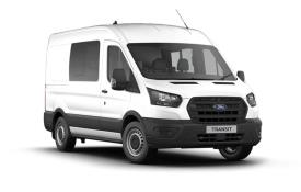 Ford Transit Crew Van 350 L3 2.0 EcoBlue FWD 170PS Trail Crew Van High Roof Manual [Start Stop] [DCiV]